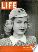 2 نيسان (إبريل) 1945