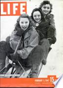 3 شباط (فبراير) 1947
