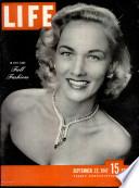22 أيلول (سبتمبر) 1947